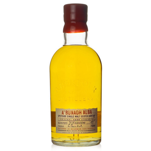 Aberlour A'bunadh Alba Cask Strength Speyside Single Malt Scotch Whisky 750mL