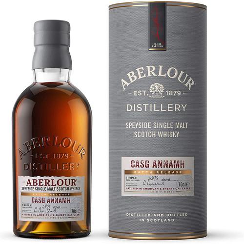 Aberlour Casg Annamh Batch Release Speyside Single Malt Scotch Whisky 750mL
