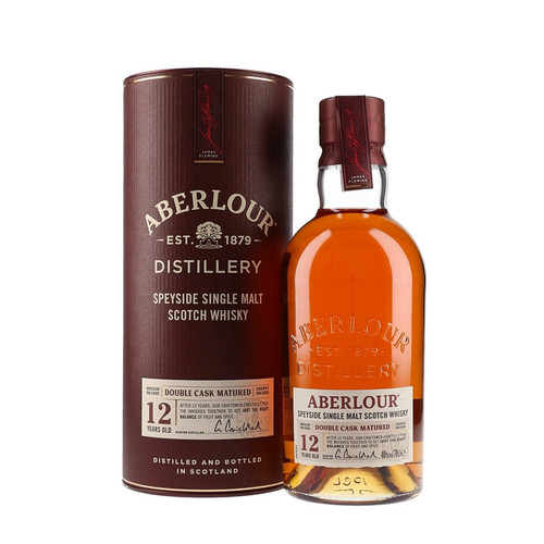 Aberlour Double Cask Matured 12-Year-Old Single Malt Scotch Whisky 750mL