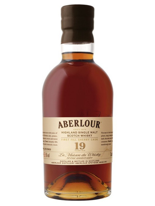 Aberlour 19 Year First Filled Sherry Cask Single Malt Scotch Whisky 750mL