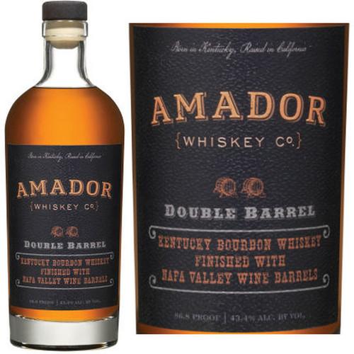 Amador Double Barrel Kentucky Bourbon Whiskey