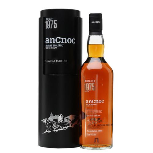 AnCnoc 1975 Limited Edition Highland Single Malt Scotch Whisky 750mL