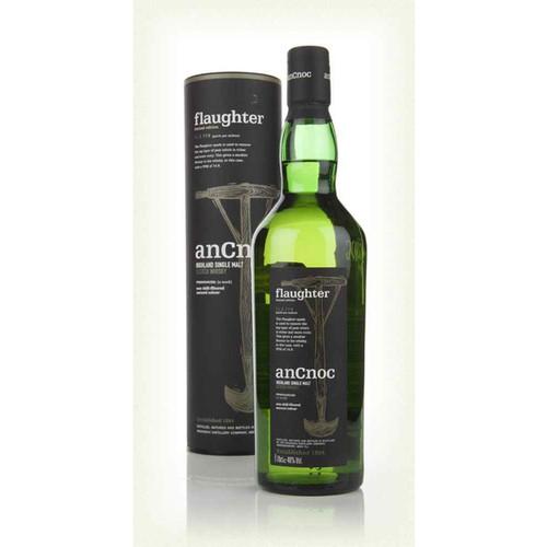 AnCnoc flaughter Highland Single Malt Scotch Whisky 750mL