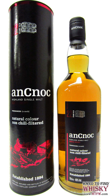 AnCnoc 22 Year Highland Single Malt Scotch Whisky 750mL
