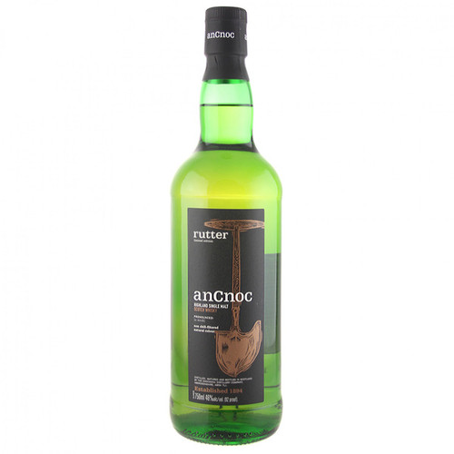 AnCnoc rutter Highland Single Malt Scotch Whisky 750mL