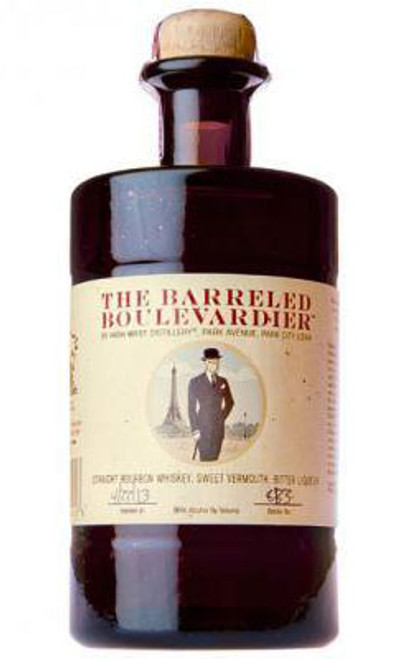 High West The Barreled Boulevardier Straight Bourbon Whiskey, Sweet Vermouth, Bitter Liqueur 750mL