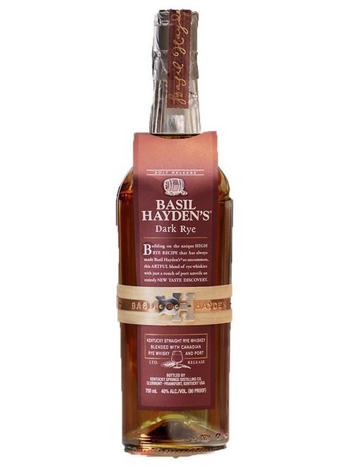 Basil Haden's Dark Rye Whiskey 750mL