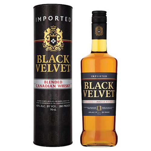 Black Velvet Blended Canadian Whisky 750mL