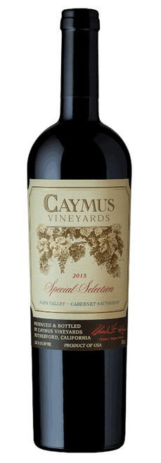 Caymus Vineyards 2015 Special Selection Napa Valley Cabernet Sauvignon 750mL
