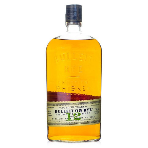 Bulleit 95 Rye Frontier Whiskey Straight American Rye Whisky 12 YR Old 750mL