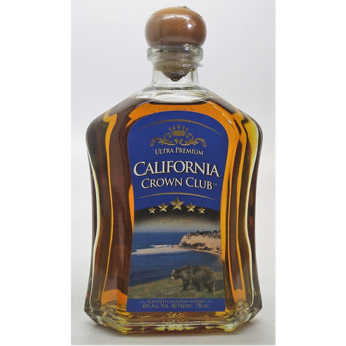 California Crown Club Ultra Premium Canadian Whisky 750mL