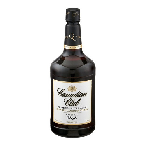 Canadian Club Original 1858 Premium Extra Aged Blended Canadian Whisky 1.75L