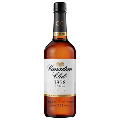 Canadian Club Original 1858 Premium Extra Aged Blended Canadian Whisky 750ml