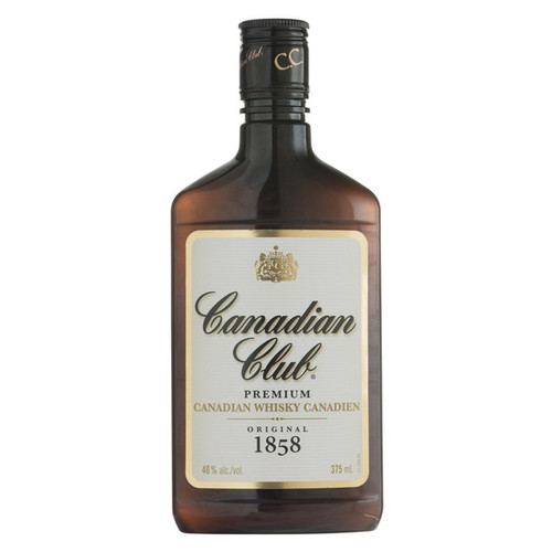 Canadian Club Original 1858 Premium Extra Aged Blended Canadian Whisky  375mL