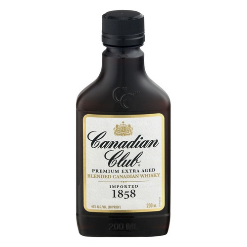 Canadian Club 1858 Premium Extra Aged Blended Canadian 200mL