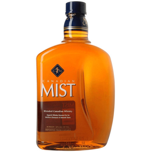 Canadian Mist Blended Canadian Whisky 1.75L