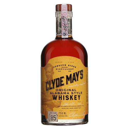 Clyde May's Original Alabama Style Whiskey 750mL