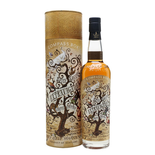 Compass Box Spice Tree Extravaganza Limited Edition Blended Malt Scotch Whisky 750mL