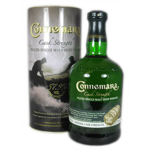 Connemara Cask Strength Peated Irish Whiskey 750mL
