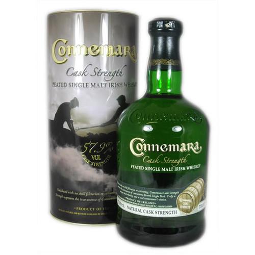 Connemara Cask Strength Peated Irish Whiskey 750mL