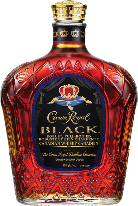 Crown Royal Black Blended Canadian Whisky 750mL