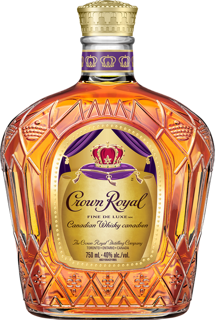 Crown Royal Fine de Luxe Blended Canadian Whisky 750mL