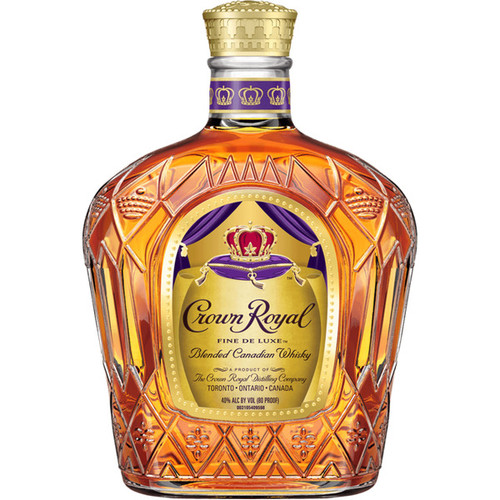 Crown Royal Fine Deluxe Blended Canadian Whisky, 375 mL