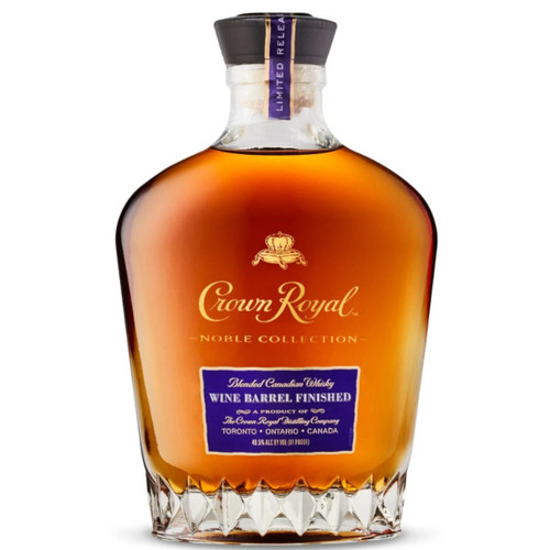 Crown Royal Noble Collection Limited Release Wine Barrel Finished Blended Canadian Whisky 750mL