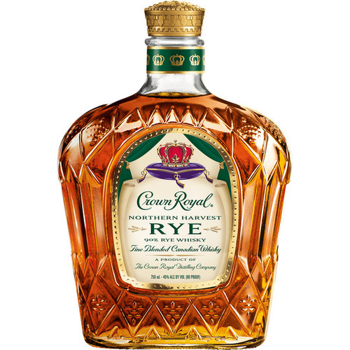Crown Royal Northern Harvest Rye Whisky 90% 375mL