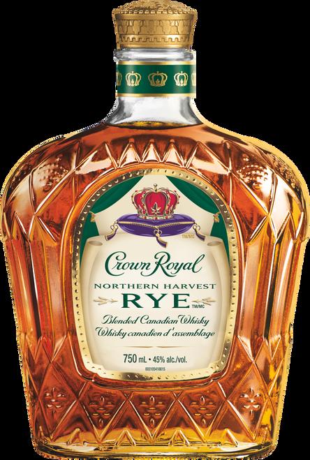 Crown Royal Northern Harvest Rye Blended Canadian Whisky 750mL