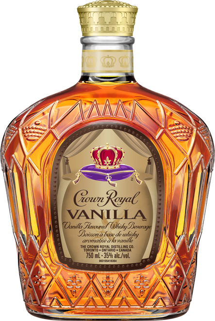 Crown Royal Vanilla Flavored Canadian Whisky 750mL