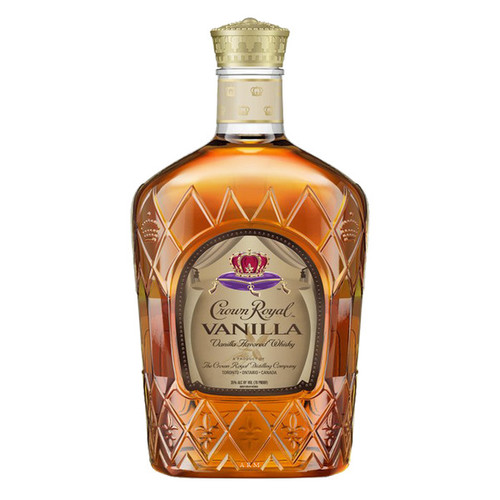 Crown Royal Vanilla Flavored Canadian Whisky 375mL