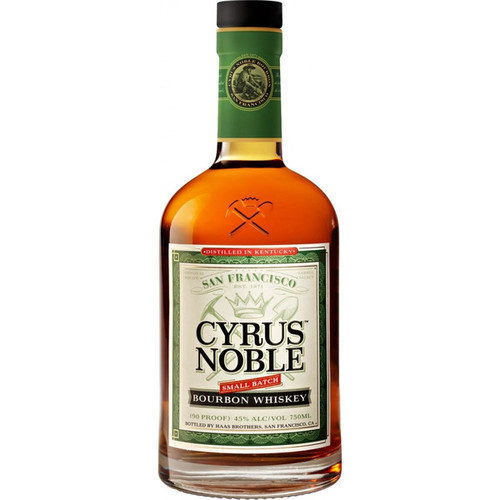 Cyrus Noble Small Batch San Francisco Bourbon Whiskey 750mL