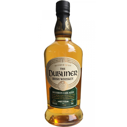 Dubliner Irish Whiskey - Bourbon Cask Aged 750mL