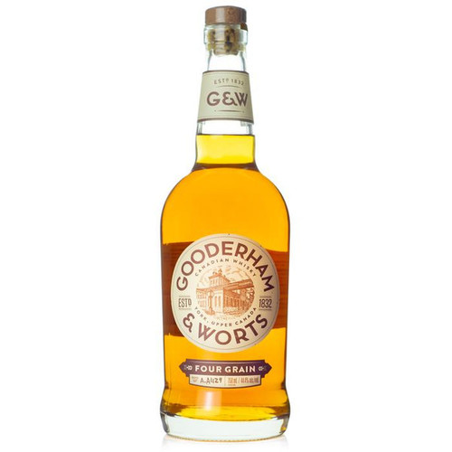 Gooderham & Worts 4 Grain Canadian Whisky 750mL