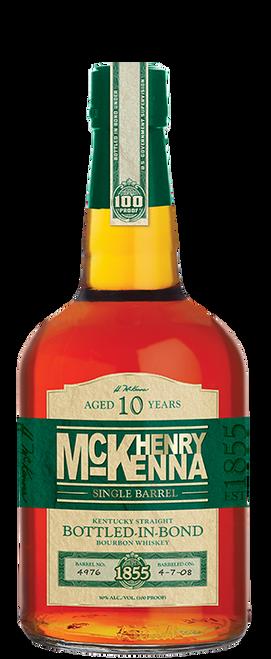 Henry McKenna Single Barrel 10 yr Kentucky Straight Bourbon Whiskey 750mL
