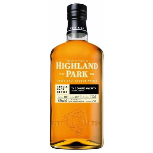 Highland Park 12 Year Single Cask Single Malt Scotch Whisky 750mL