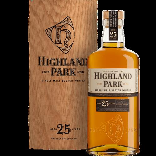 Highland Park 25 Year Old Single Malt Scotch Whisky 750mL