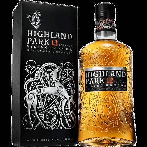 Highland Park 12 Year Viking Hounour Single Malt Scotch Whisky 750mL