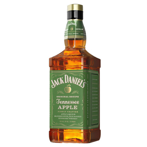 Jack Daniel's Tennessee Apple Flavored Whiskey 750mL