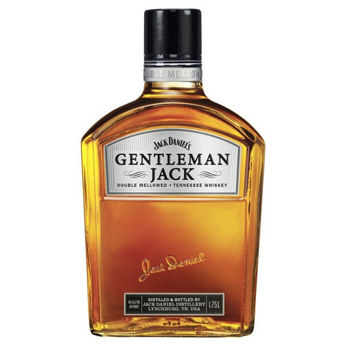 Jack Daniel's Gentleman Jack Double Mellowed Tennessee Whiskey 1.75L