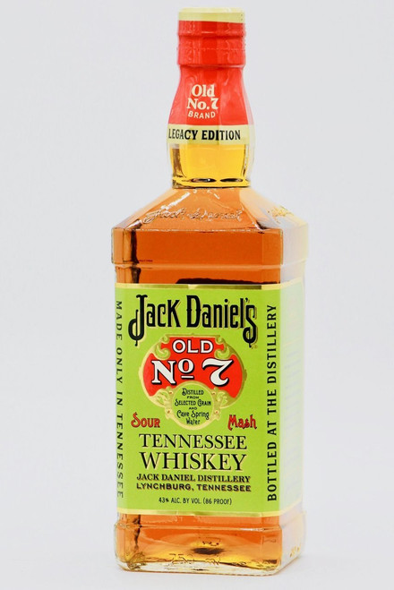 Jack Daniel's Old No. 7 Legacy Edition Tennessee Sour Mash Whiskey 750mL
