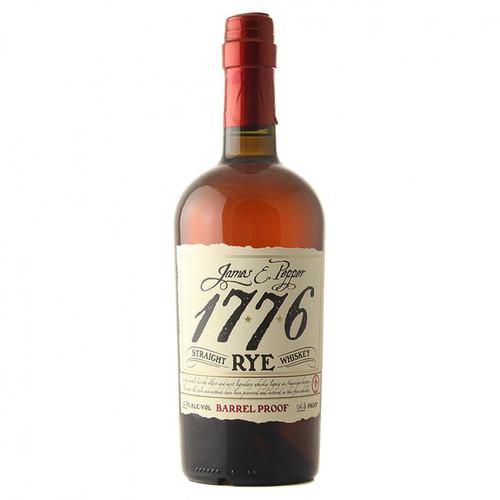 James E. Pepper 1776 Barrel Proof Straight Rye Whiskey 750mL