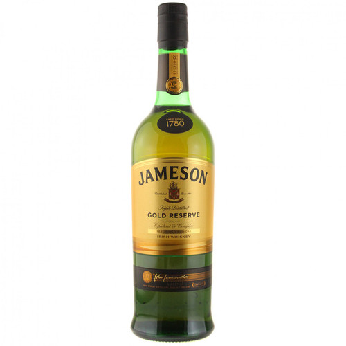Jameson Gold Reserve Triple Distilled Irish Whiskey 750mL