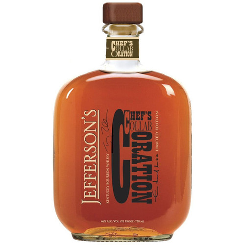 Jefferson's Chef's Collaboration LE Blended Straight Bourbon Whiskey 750mL