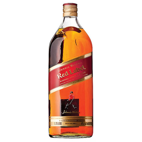 Johnnie Walker Red Label Blended Scotch Whisky 1.75L