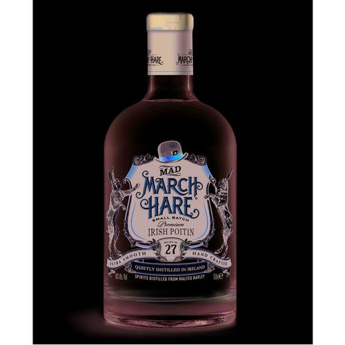 Mad March Hare Irish Poitin Moonshine 750mL