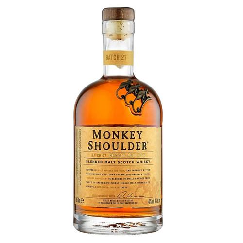 Monkey Shoulder Batch 27 Blended Malt Scotch Whisky 750mL