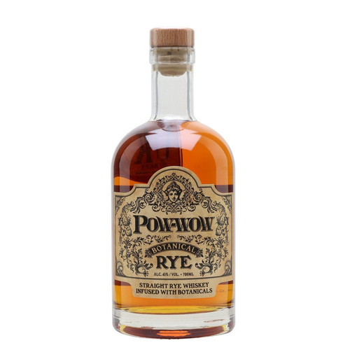 Pow-Wow Botanical Rye Straight Rye Whiskey 750mL
