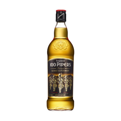Seagram's 100 Pipers Scotch 750mL